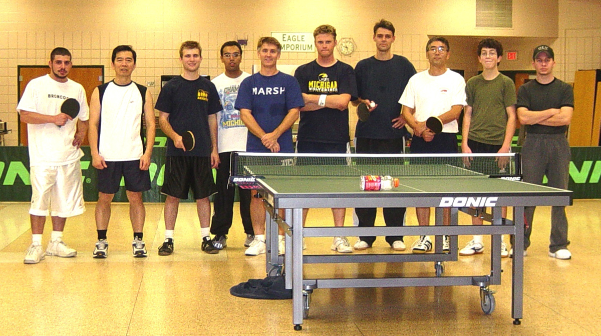 The Rochester Table Tennis Club